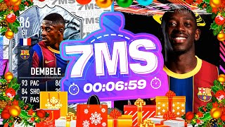 WOW WHAT A CARD!! 86 STRIKER FREEZE DEMBELE 7 MINUTE SQUAD BUILDER - FIFA 21 ULTIMATE TEAM
