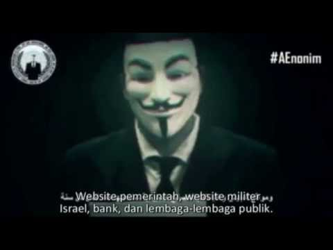 Anonymous Message To Israel 7 April 2015 (Indonesian subtitle)