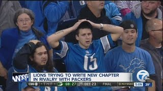 Lions hoping to write new chapter in Packers rivalry*