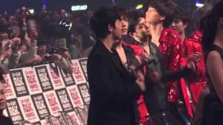 121130 MAMA EXO During Gangnam style Performance