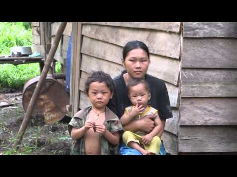 Dayak Punan di Kutai Timur, Kalimantan Timur, Indonesia