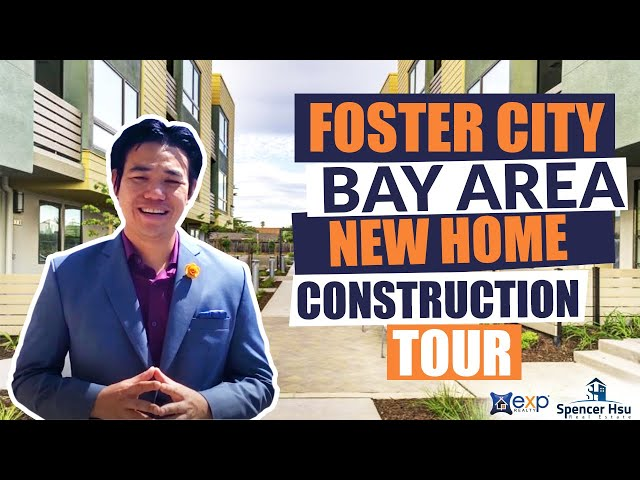 Foster City Bay Area New Home Construction Tours - Waverly Cove built by Summerhill Homes