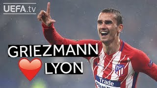 GRIEZMANN GOALS IN LYON