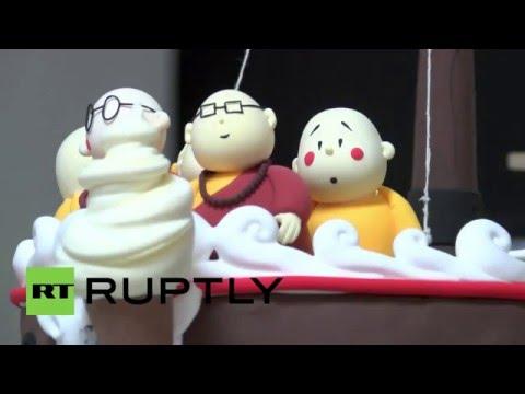 China: Meet Xian'er, the Buddhist monk ROBOT that teaches ancient wisdom