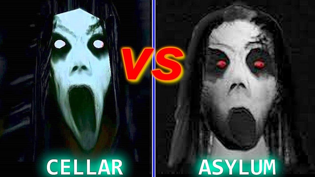 Slendrina The Cellar Vs Slendrina Asylum Jumpscare Battle