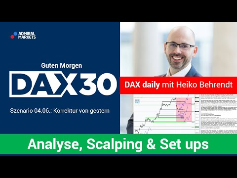 DAX aktuell: Analyse, Trading-Ideen & Scalping | DAX30 | CFD Trading | DAX Analyse | 04.06.2020