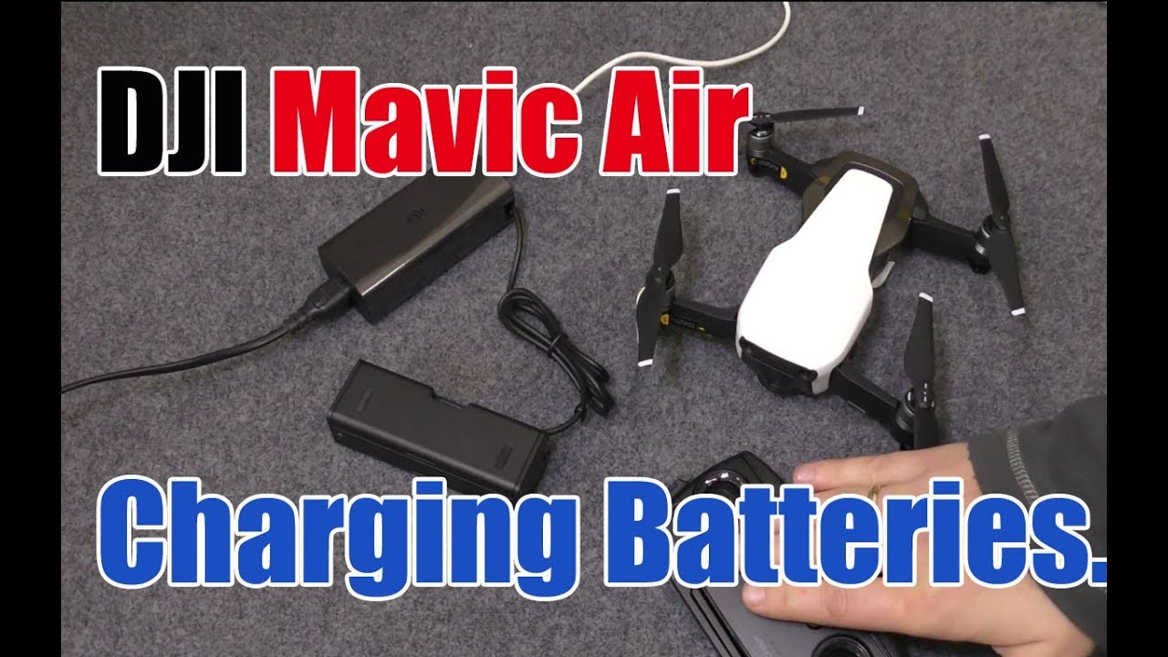 f0c126f71d6 DJI Mavic Air, How to Charge the Battery and Controller Tutorial ...