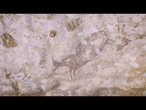 A Recently-Discovered 44,000-Year-Old Cave Painting Tells the Oldest Known Story