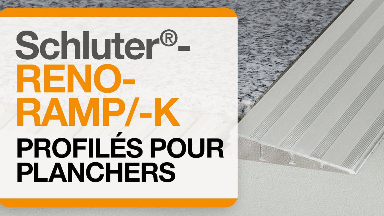 Comment installer un profil de transition dans un - Comment demarrer un carrelage au sol ...
