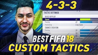 FIFA 18 BEST FORMATIONS 4-3-3 TUTORIAL - BEST CUSTOM TACTICS & INSTRUCTIONS / HOW TO PLAY 4-3-3 (4)