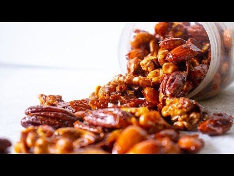 Spiced Nuts - Quick Snacks for Thanksgiving