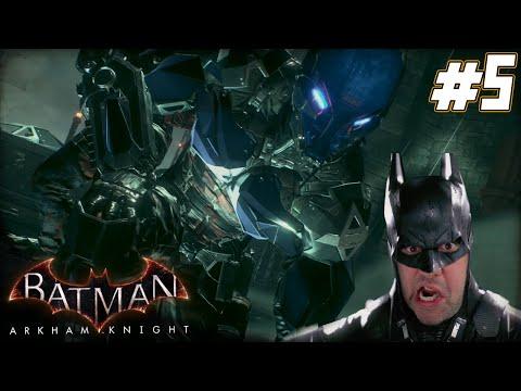 "Batman Arkham Knight Gameplay Walkthrough Part 5 - ""BATMOBILE IS MY HOMEBOY!!!"" 1080p HD PC"