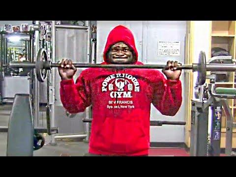 Kai Greene's Awesome 23 Inch ARMS & Forearm Training For ...  Kai Greene'...