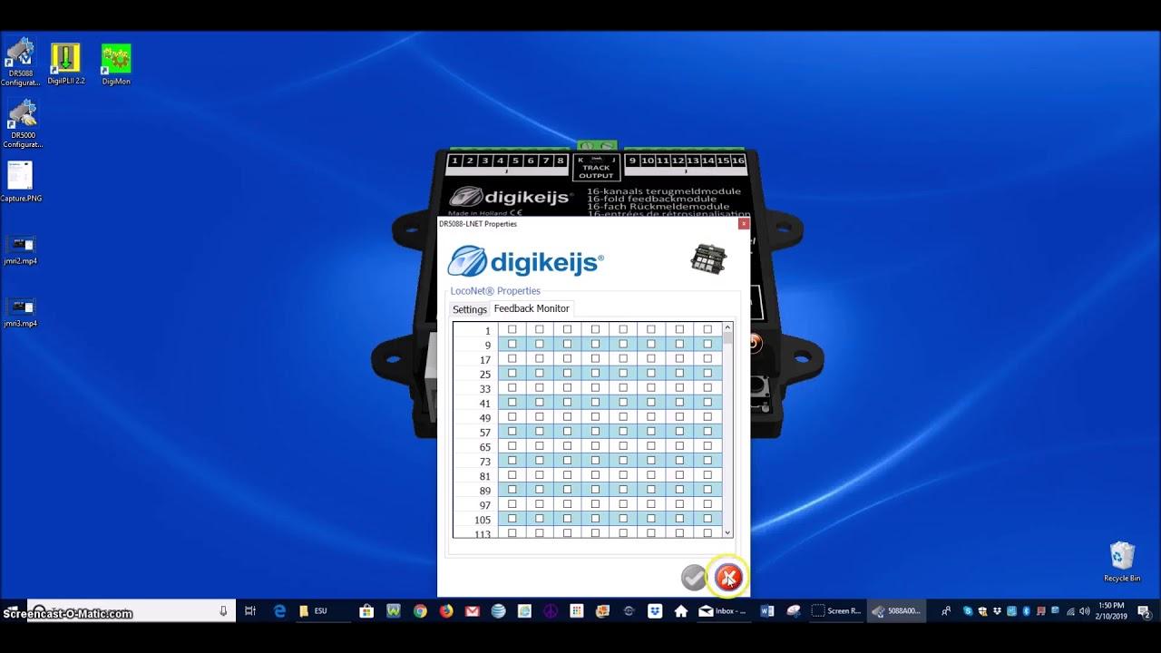 Digikeijs DR5088RC DIGIDETECT 16-fach RailCom-Rückmeldemodul