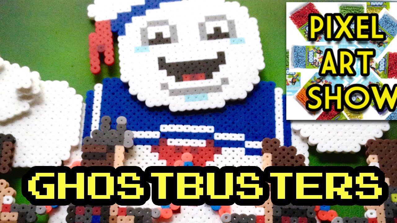 Perler Bead Project 3d Ghostbusters Pixel Art Show