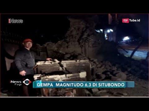 Gempa 6,3 SR Guncang Situbondo, Sejumlah Rumah Warga Hancur - INews Pagi 11/10