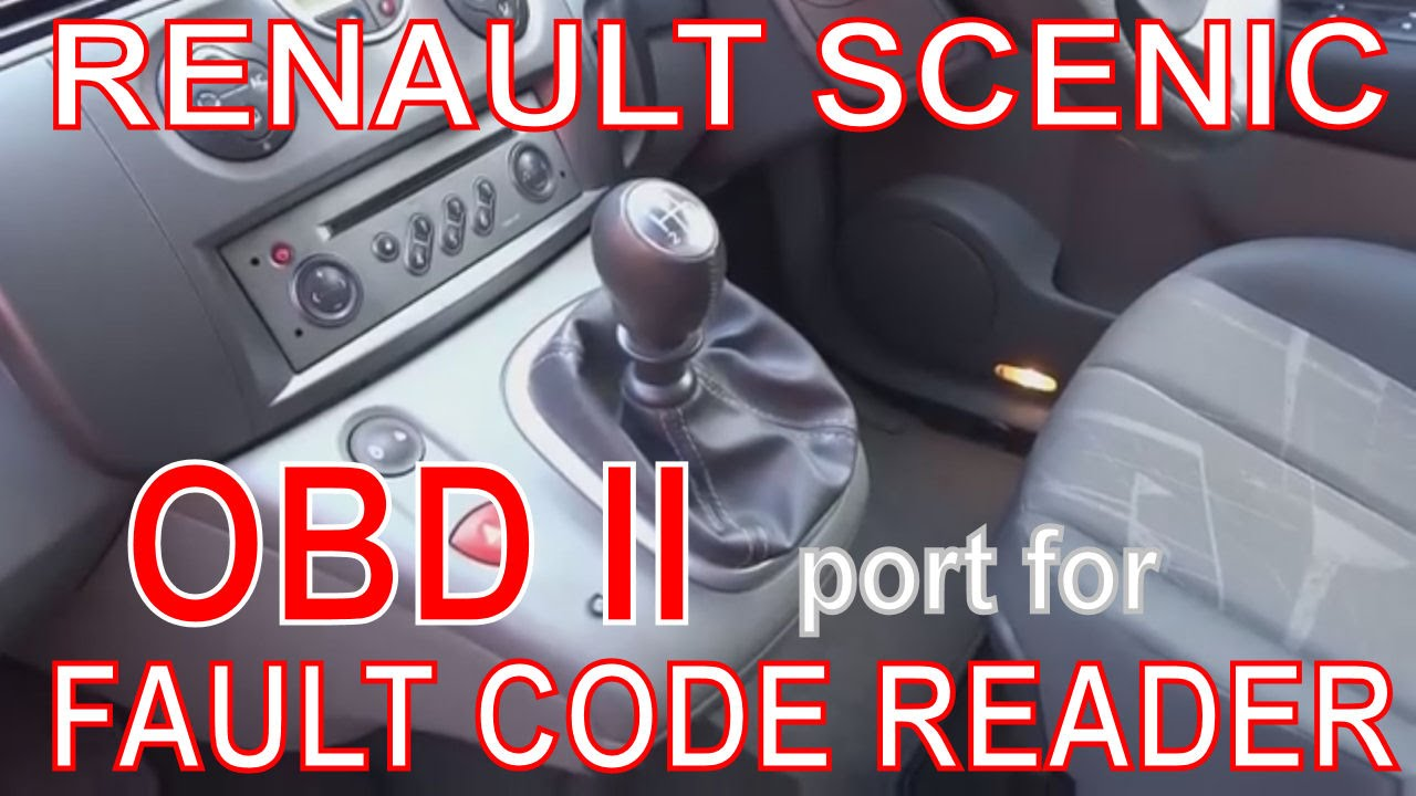 obd ii port on board diagnostics location on renault. Black Bedroom Furniture Sets. Home Design Ideas