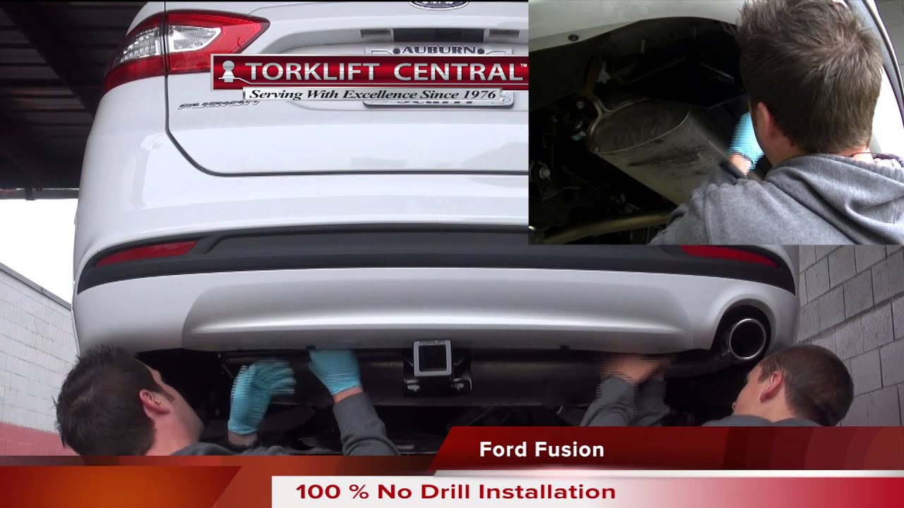 "2017 Ford Escape Towing Capacity >> 2013+ Ford Fusion Gas/Hybrid/Energi 2"" Hidden No Drill ..."