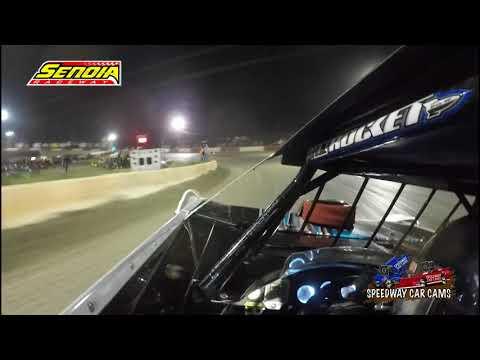 #24 Zach Leonhardi - Super Late Model - 3-17-18 Senoia Raceway - In Car Camera