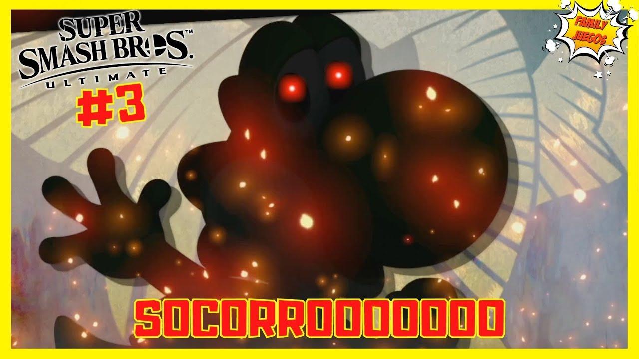 YOSHI.EXE RESCATADO!!! I Super Smash Bros Ultimate #PARTE3