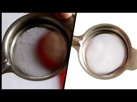How to clean  tea strainer | clean blocked tea strainer at hime by useful tips & tricks for home.