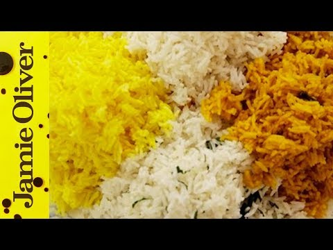 How To Cook Perfect Fluffy Rice | Jamie Oliver