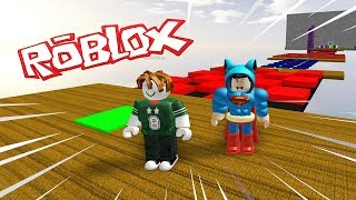PARKOUR by PLAYGERMAN at ROBLOX 😀 BEBE MILO and VITA