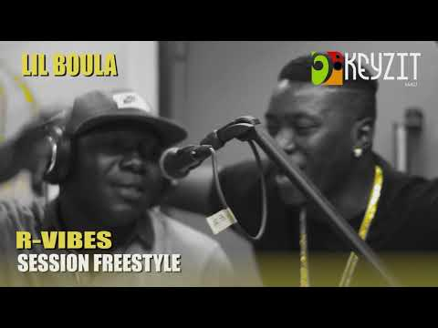 Lil' Boula - Session Freestyle sur R-Vibes samedi 10 Mars 2018