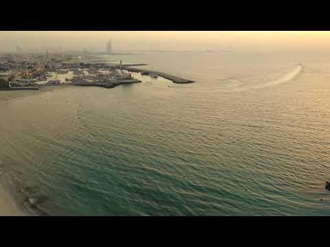 Dubai, Kite Beach Sunset