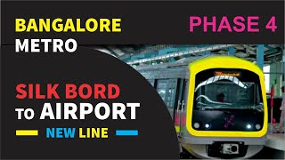 Bangalore Metro taking to the Airport | Namma Metro | Metro Station List | Metro Routes