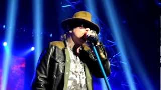 "Guns n Roses ""Civil War"" at The Joint Las Vegas Nov 14 2012"