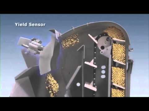 New Holland CR Tier 4A Combine   Yield Sensor