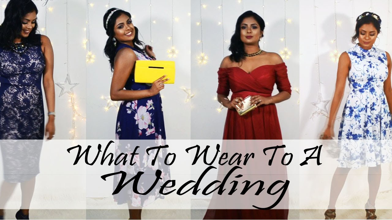 What To Wear To A Wedding | Wedding Guest Outfit Ideas | LOOKBOOK ...