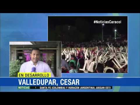 En pelea terminó presentación de Silvestre Dangond en La Guajira