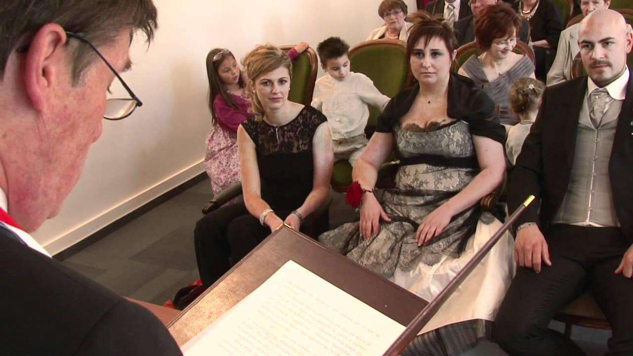 Célèbre Mariage - la Mairie - YouTube XB08