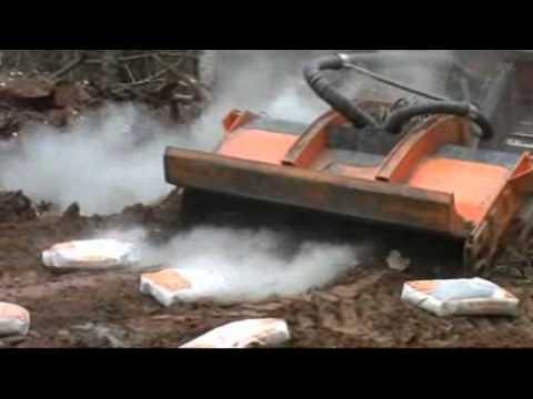 видео о стабилизации грунта