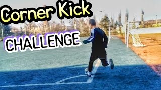 Corner Kick Challenge Угловой удар Голы с углового Кручёные удары