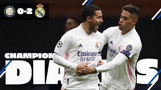 ✨👊 Inter 0-2 Real Madrid | Hazard, Rodrygo & joy at San Siro!