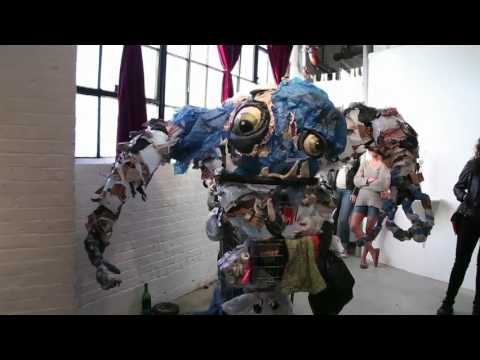 Trash Monster at Basement Gallery Oakland