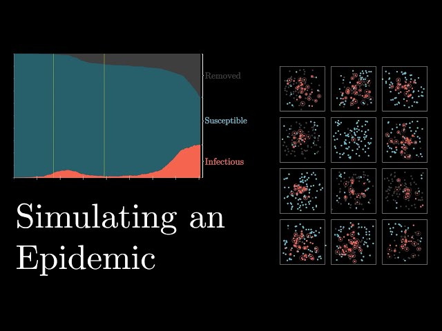 Simulating an epidemic