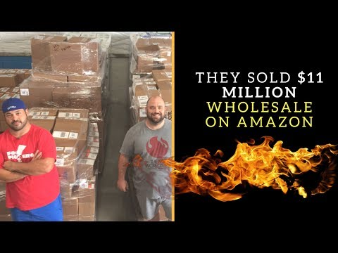 They Quit Retail Arbitrage And Sold $11 Million Wholesale on Amazon FBA