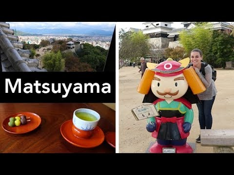 An ONSEN and a CASTLE | Matsuyama, Ehime
