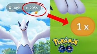 connectYoutube - OMG!! 100% LUGIA! ONLY 8 BALLS - DID I CATCH IT? POKEMON GO