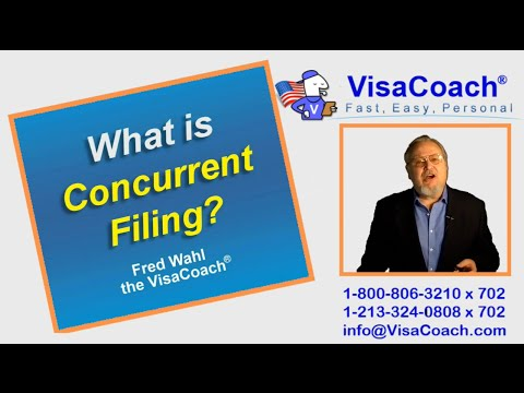 Concurrent Filing Adjustment Of Status For Spouse Of Us Citizen Gc10