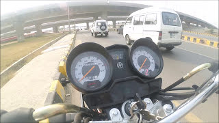Yb125z Top Speed on Kashmir highway