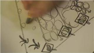 Drawing Plants & Flowers : How to Draw a Garden Picture
