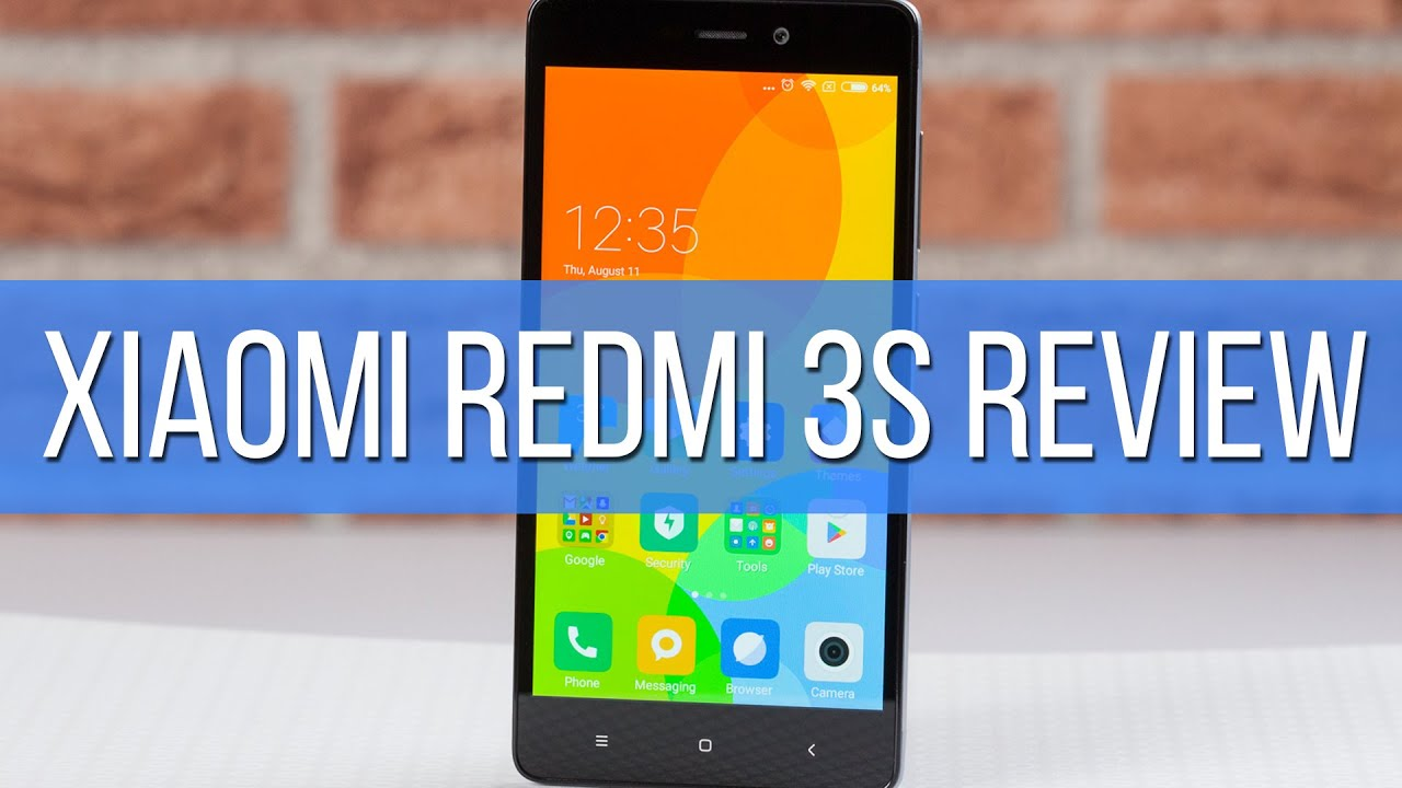 Xiaomi Redmi 3S - Review