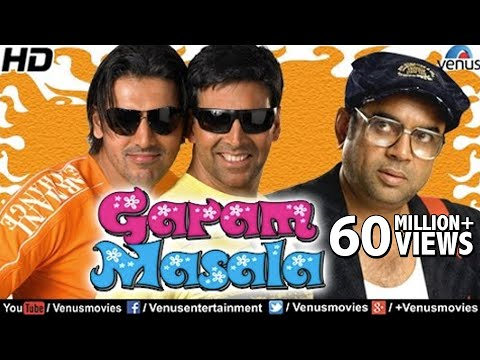 Garam Masala Full Movie | Hindi Comedy Movies | Akshay Kumar Movies | Latest Bollywood Movies 2016