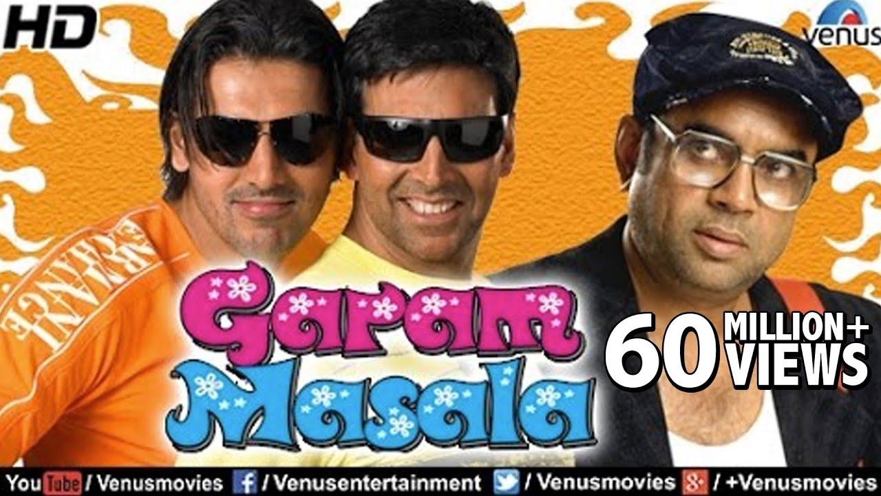 Garam Masala (HD) Full Movie | Hindi Comedy Movies | Akshay Kumar Movies | Latest Bollywood Movies