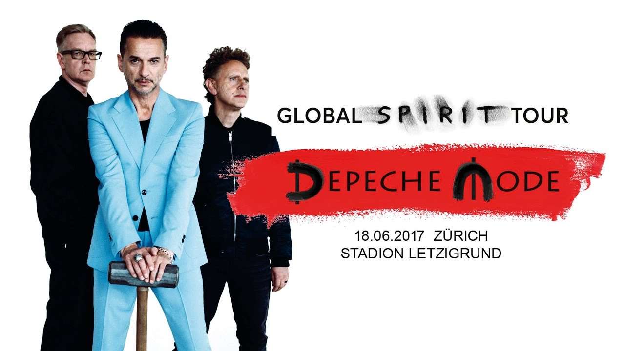 Depeche Mode Global Spirit Tour Z Rich Stadion Letzigrund Youtube